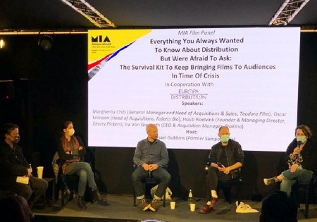 Independent distributors claim their cultural role as publishers at Europa Distribution's panel at MIA
